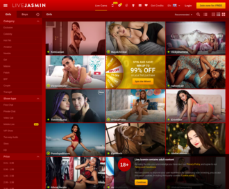 Access livejasmin.com using Hola Unblocker web proxy